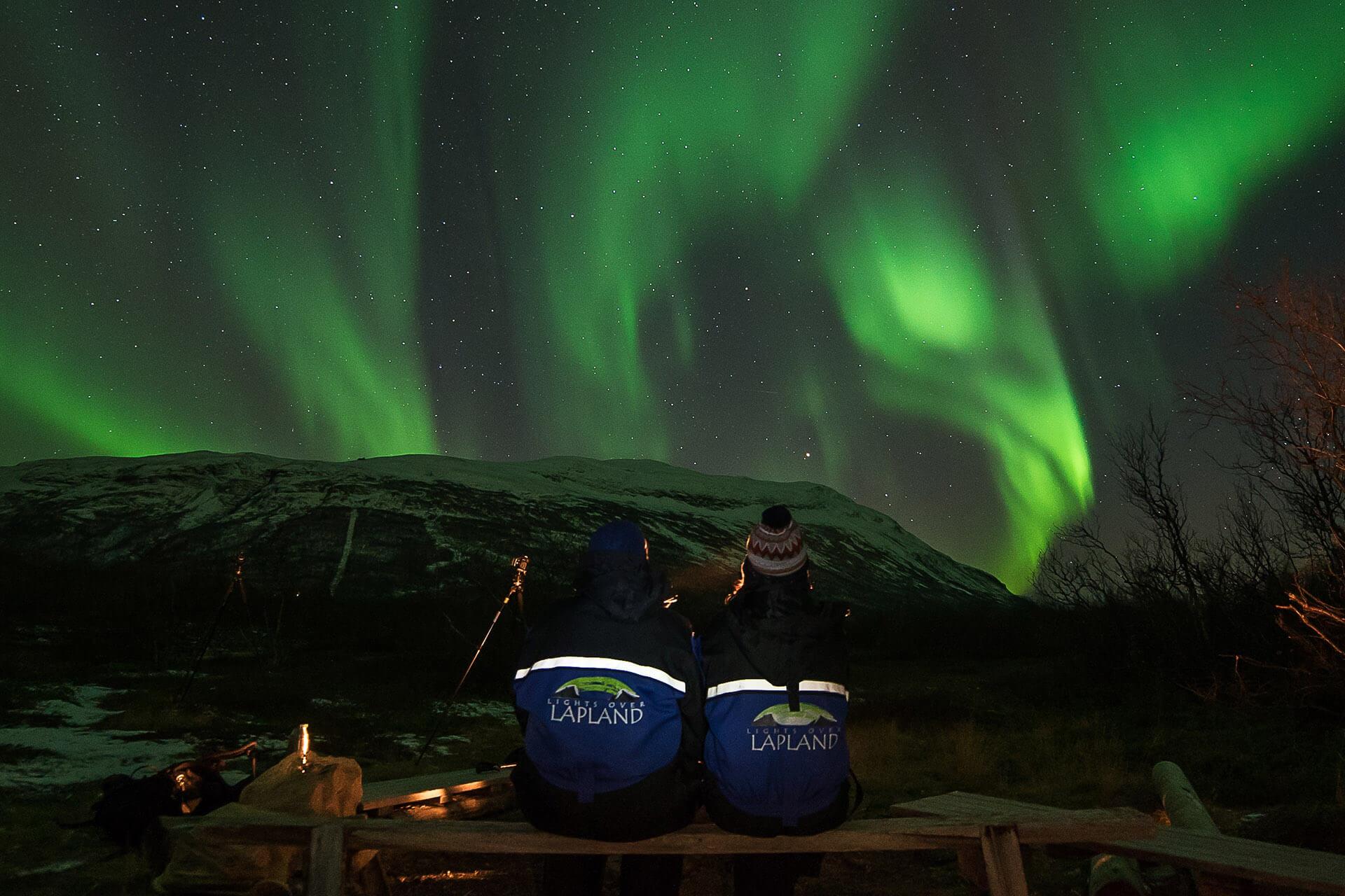 nightly aurora photo tour autumn